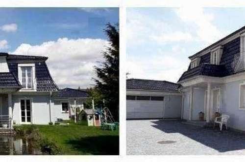 Randlage St.Pölten - Schöne Villa mit Panoramablick, Gartenteich, Fußbodenheizung und Doppelgarage