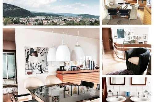 Randlage/Köflach - Schönes Haus mit Keller, Doppelgarage und Poolhaus/Whirlpool