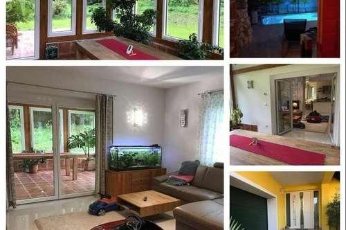 Randlage Schirning/Nahe Gratwein/Graz - Schönes Haus mit Wintergarten, Wellnessbereich, Keller und Garage