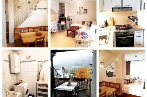 Nahe Traunsee - Schöne Wohnung mit Loggia, Balkon, Schwedenofen und Garagenplatz