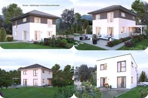 Schwarzenau-Elkhaus und Grundstück (Wohnfläche - 117m² - 129m² & 143m² möglich)