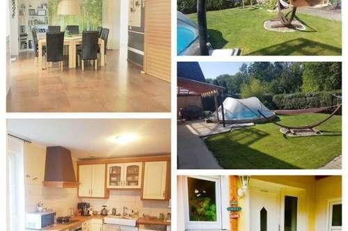 Enns - Schönes Haus mit Garage, Carport und Pool