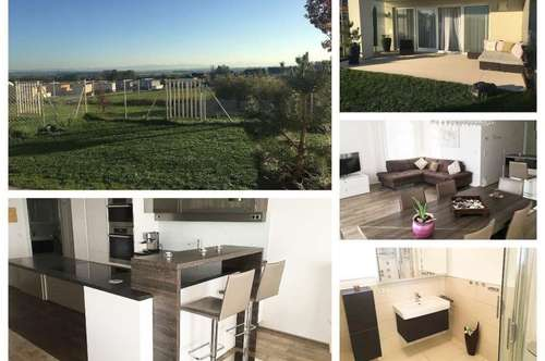 Randlage/Rufling - Top Wohnung mit Fußbodenheizung, Garten/Terrasse und 2 Tiefgaragenplätze