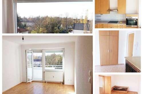 Wels - Schöne Wohnung mit 2 Balkone und Parkplatz