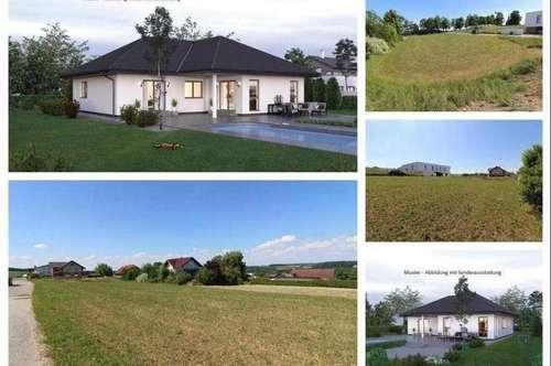 Randlage/St.Martin - Schöner ELK-Bungalow und Grundstück