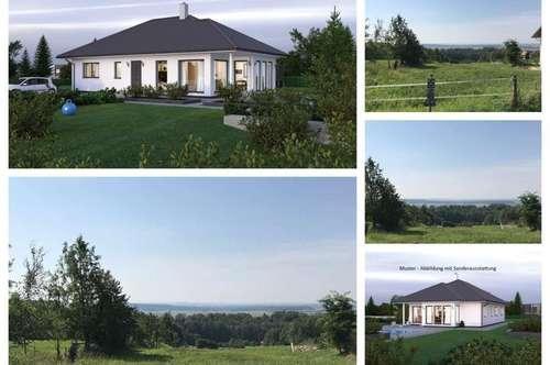 Nahe Schärding/Südwestlage/Aussicht - Schöner ELK-Bungalow und Grundstück