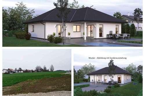 Nahe Gunskirchen/Wels - Schöner ELK-Bungalow und Grundstück