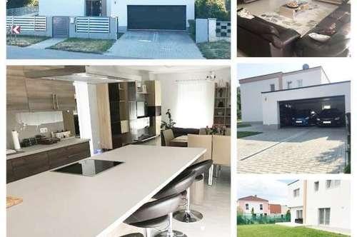 Bezirk/Gänserndorf/Randlage-Strasshof - Schönes Haus mit Fußbodenheizung und  Garage in Top-Lage - Eckparzelle