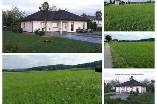 Pfaffstätt/Nahe Mattsee- Schöner ELK-Bungalow und Grundstück (2 Parzelle verfügbar)