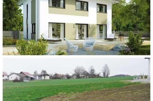 Nahe Gunskirchen/Wels - Schönes-Elkhaus und Grundstück