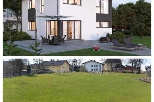 Aichkirchen/Nahe Wels - Schönes Elkhaus und Grundstück (noch 2 Parzellen)