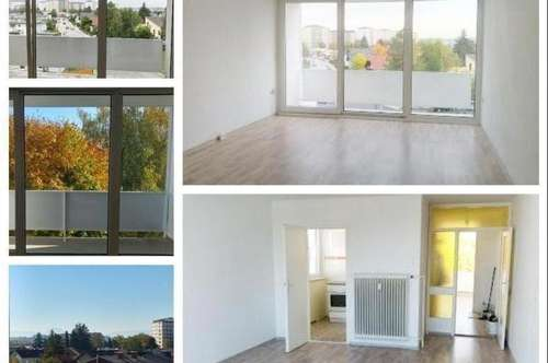 Wels - Schöne Wohnung mit 2 Loggien und KFZ-Abstellplatz