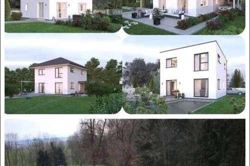 Randlage Peuerbach-Elkhaus und Grundstück (Wohnfläche - 117m² - 129m² & 143m² möglich)