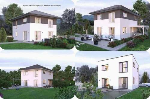 Zentrale Lage/Neukirchen-Schönes Elkhaus (Wohnfläche - 117m² - 129m² & 143m² möglich)-(2 Parzellen verfügbar)