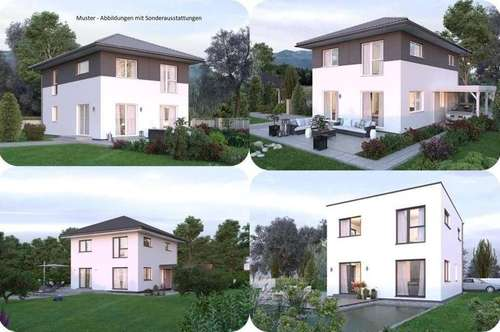 Inzersdorf im Kremstal - Elkhaus und Hang-Grundstück mit Ausblick (Wohnfläche - 117m² - 129m² & 143m² möglich)
