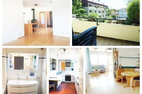 Randlage Klosterneuburg - Schöne Wohnung mit Loggia und Privatparkplatz