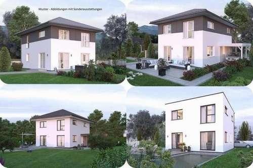 Randlage Nötsch im Gailtal - Elkhaus und ebenes Grundstück mit Ausblick (Wohnfläche - 117m² - 129m² & 143m² möglich)