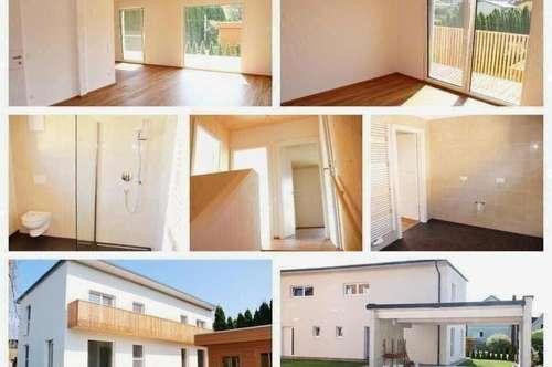 Voitsberg - Schöne Wohnhaushälfte mit Fußbodenheizung, Balkon, Terrasse und Carport