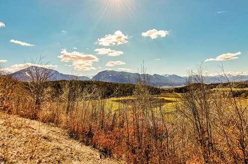 Maria Rain - Grundstücke in unverbaubarer Aussichtslage