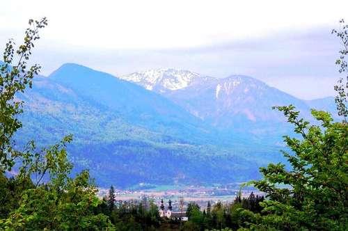 Unverbaubare Plateau- und Aussichtslage in Maria Rain