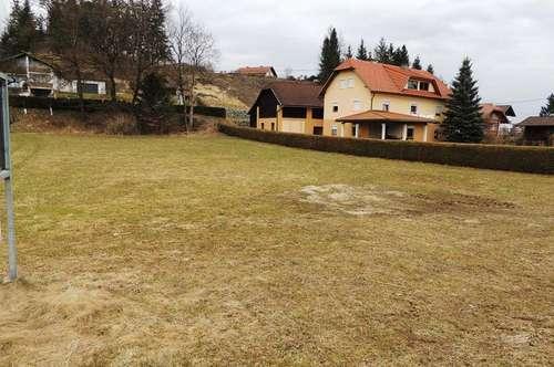 Baugrundstück im Zentralbereich von Eberndorf