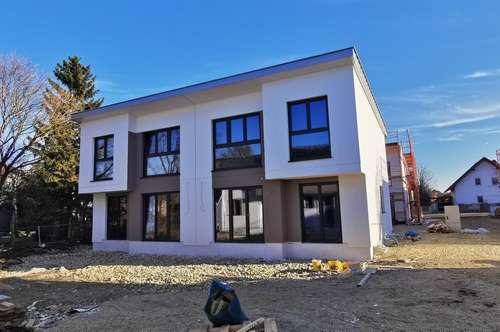 Grünlage in Groß- Enzersdorf - Exklusive Doppelhäuser im provisionsfreien Erstbezug