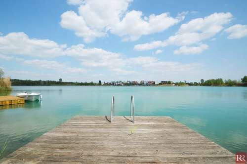 Seepark Thürnthal - Ein Traum vom Eigenheim direkt am Wasser!