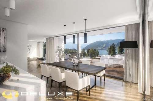 Neubauprojekt in Vorbereitung: 5 Luxuswohnungen mit traumhaften Blick auf den Zeller See