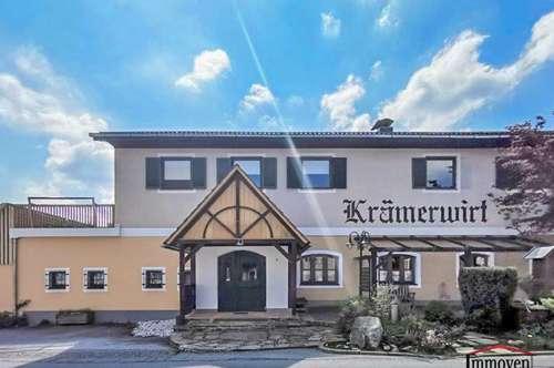 AUSGEZEICHNETE LAGE! SEHR GERÄUMIGE IMMOBILIE - Haus mit Geschäftslokal und Wohnungen