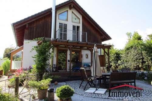 Naturjuwel vor den Toren von Graz – Sehr gepflegtes Einfamilienhaus mit Schwimmteich im Garten und vielen Obstbäumen!
