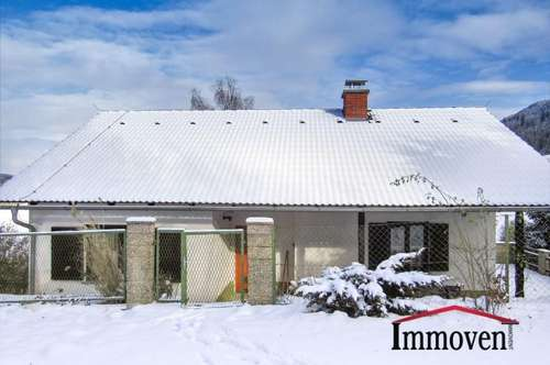 NATUR PUR - Einfamilienhaus am Grazer Hausberg Schöckl
