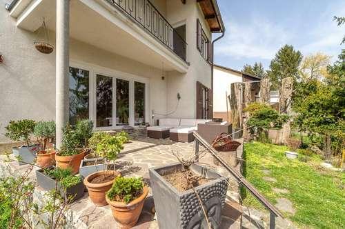 Haus mit Fernblick über Wien