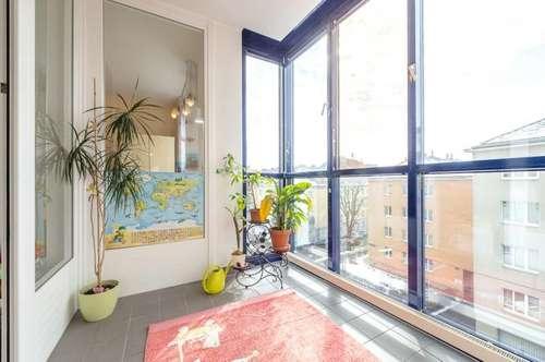 unbefristet Mieten und selbst gestalten: ruhig gelegen mit Loggia und Balkon