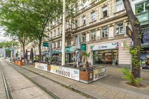 235m² großes Geschäftslokal nahe Westbahnhof ab sofort zu mieten (Mariahilfer Straße 124)