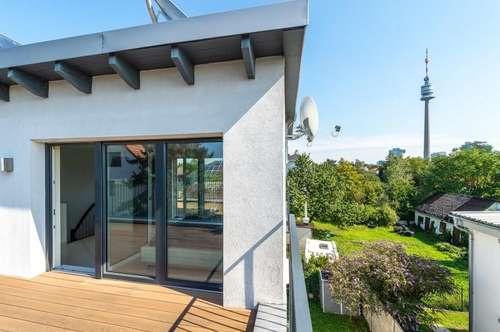 **Reduzierte Käuferprovision** Moderne Doppelhaushälfte mit Garten & schöner Dachterrasse nahe VIC! Video-Besichtigung möglich!