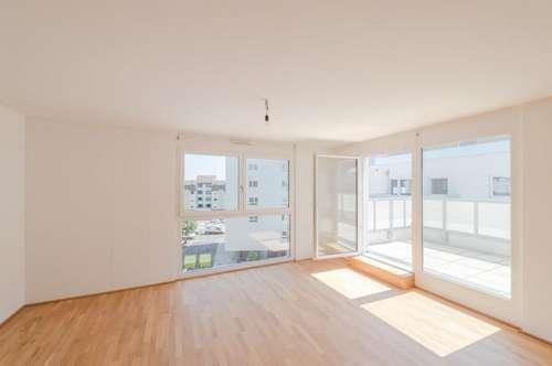 **ERSTBEZUG** 4 Zimmer Dachgeschosswohnung mit Terrasse im Q11!