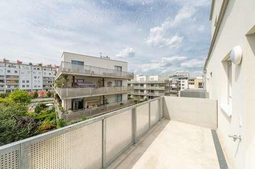 Modern - hell - ruhig: 4 Zimmer Wohnung mit Balkon im Q11 // ERSTBEZUG!