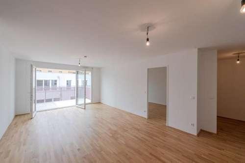 Familienfreundliche, moderne 3 Zimmer Wohnung mit Balkon im Q11 // ERSTBEZUG