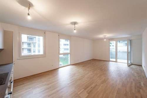 Hell - modern - ruhig: 3 Zimmer Wohnung mit Balkon im Q11 // ERSTBEZUG