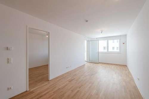 ERSTBEZUG im Q11! 2 Zimmer-Wohnung mit Loggia in U-Bahn-Nähe (Simmering)!