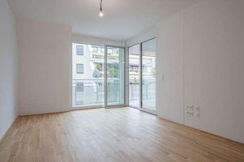 ruhig gelegene 2-Zimmer-Wohnung mit Loggia nahe U6