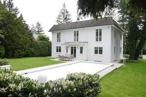 Moderne, elegante Einfamilienvilla mit Garage und Outdoor-Pool