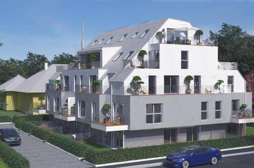 NEUBAU: DACHTERRASSENWOHNUNG: 2 Zimmer mit Terrasse