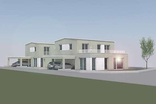 Niedrigstenergiehaus in gekuppelter Bauweise - Haus 1