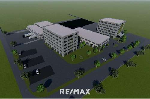 Geschäftsflächen für Handelsbetriebe und Dienstleister im neuen Gewerbe- und Technologiepark Kematen zu mieten