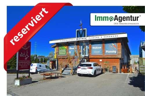 Grundstück mit Gewerbeobjekt in exzellenter grenznaher Lage in Hohenems, Bieterverfahren