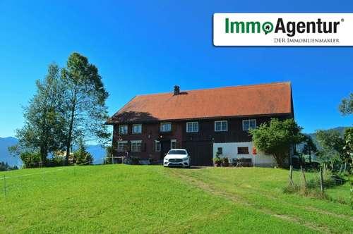 Rarität: Heimeliges Bauernhaus in idyllischer Lage in Langenegg