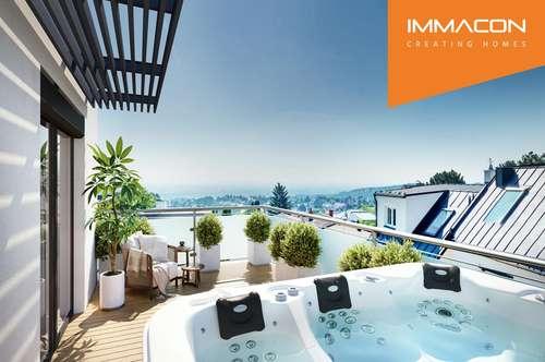 Haus mit Pool, Outdoor-Whirlpool & traumhaften Blick nach Wien - Provisionsfrei