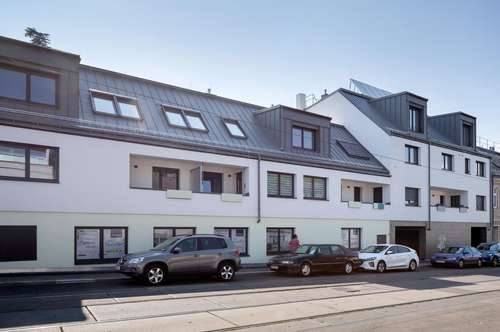 provisionsfrei! 3 Zimmer DG Maisonette mit Dachterrasse_Speisingerstraße T16