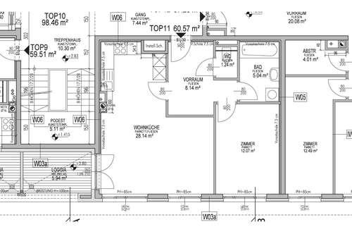 ab sofort verfügbar! helle 2 Zimmerwohnung mit Loggia, nahe dem Maurer Hauptplatz